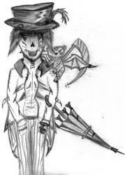 monster or some kind of devil by Kerropi