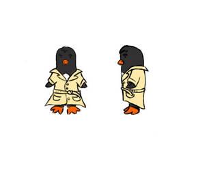 Badass Pinguin Main character for Ludum dare 29 by Kerropi