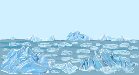 Ice world Badass Pinguin Ludum dare 29 by Kerropi