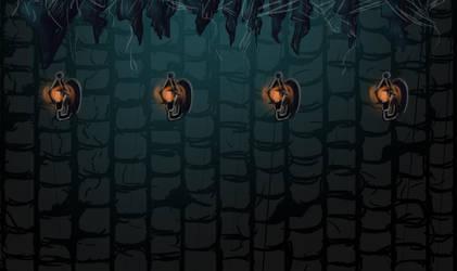 Underground world Badass Pinguin Ludum dare 29 by Kerropi