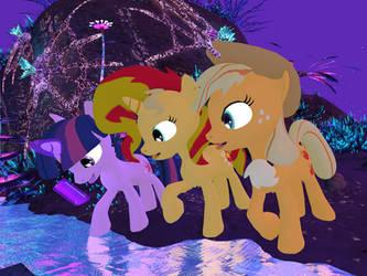 My Little Pony - Alien Planet Glise 04[Poser] by Naduron0
