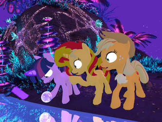 My Little Pony - Alien Planet Glise 05[Poser] by Naduron0