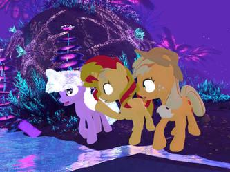 My Little Pony - Alien Planet Glise 06[Poser] by Naduron0