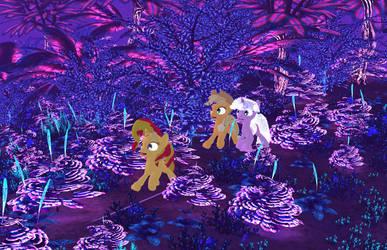 My Little Pony - Alien Planet Glise 16 [Poser] by Naduron0