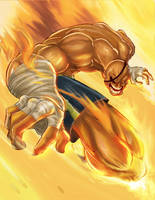 Street fighter SAGAT by Arzuza