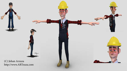Constructor 3D Character by Arzuza