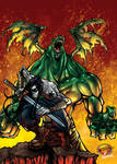 Warriors kade vs apolion Color by Arzuza