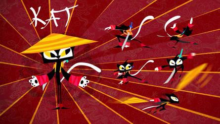 Ninja by Arzuza