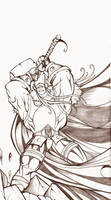 THOR pencil by Arzuza