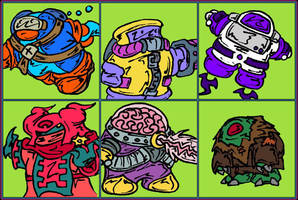 Guardian Defense Troopers Cast by MadGoblin