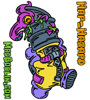 Hazzard and Tentriple by MadGoblin