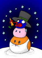 Dreamland Snowman by MadGoblin