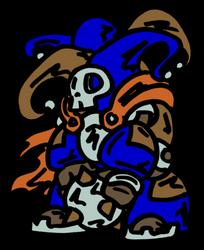 War Relic: Skull Jester by MadGoblin