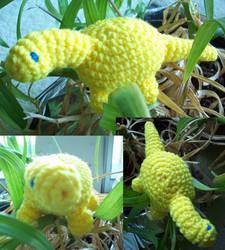 Crochet Bronto by MadGoblin