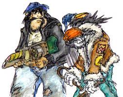 Wasteland's Jet, Bishop, Rick by MadGoblin
