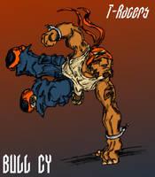 T-Racer: Bull Cy by MadGoblin