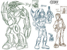 COTU - The New Challengers by MadGoblin