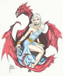 Daenerys Copics by MarissaWalker