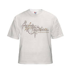 calligraphic t-shirt design by khawarbilal