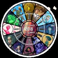 2018 Art Summary by Cra-ZShaker