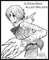 D.Gray-Man: Allen Walker by garibenROCK