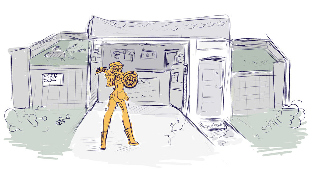 jeans home mechanic garage thing by HiGuysImGrace on DeviantArt