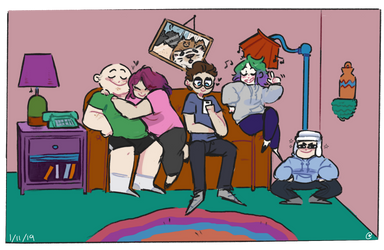 family portrait by SinnersAreWinners