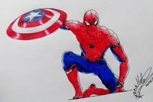 Spider-Man Civil War by HBitwill