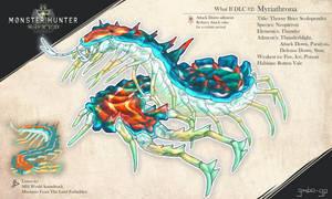 Monster Hunter World What If DLC 2 - Myriathrona by gimbo-gp