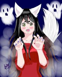 Werewolf Leiko Senpai!! by WritingwithHearts
