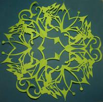 Tinkerbell Snowflake by MirabellaTook