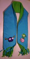 Gir Piggy Moose scarf by MirabellaTook