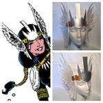 Dani Moonstar Leather Valkyrie by MirabellaTook