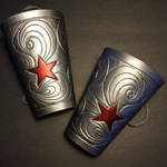 Bombshell Wonder Woman inspired bracers by MirabellaTook