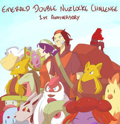 Emerald Double Nuzlocke 1st Anniversary! by mizj