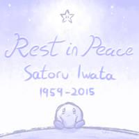 Rest in Peace, Satoru Iwata by Sol-Lar-Bink
