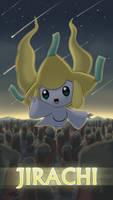 Pokemon 20th Anniversary- Jirachi by Sol-Lar-Bink