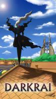 Pokemon 20th Anniversary Darkrai by Sol-Lar-Bink