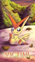 Pokemon 20th Anniversary- Victini by Sol-Lar-Bink
