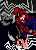 Spider-Man ps4 vs Venom by jcarty665