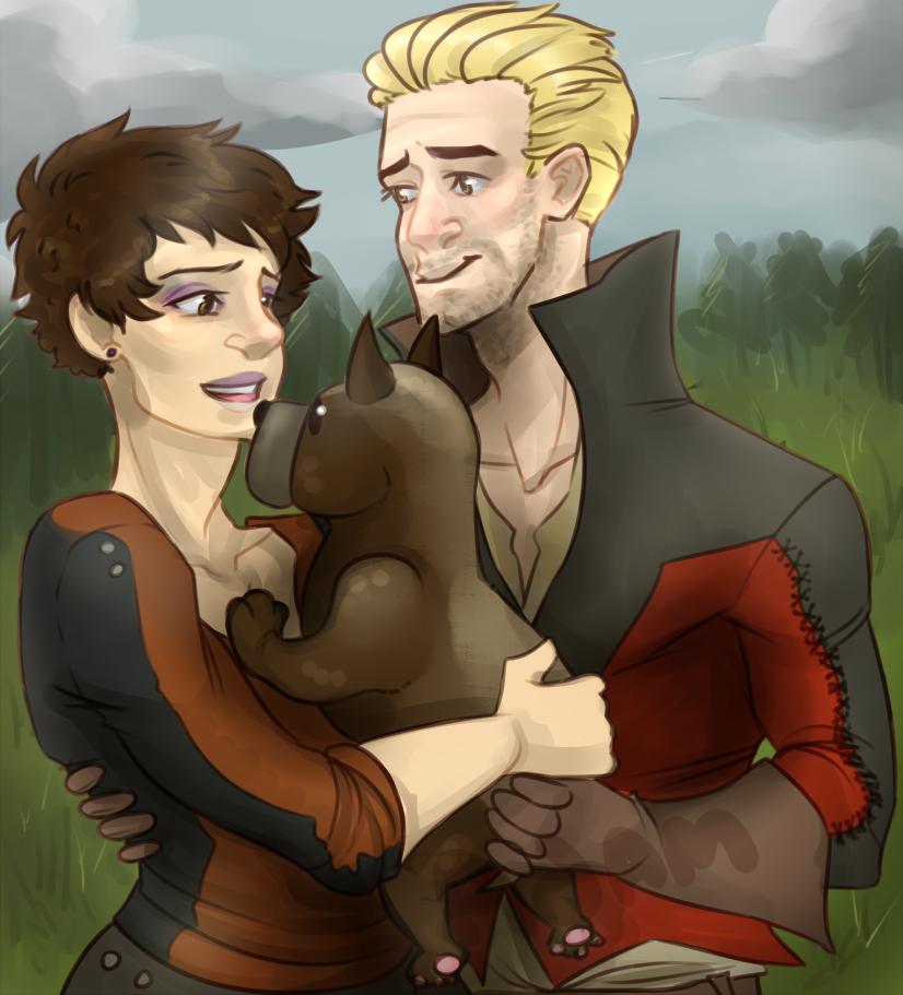 Puppy Gift by elflovin