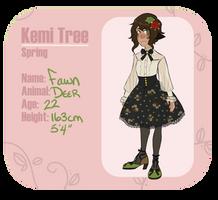 [KemiTree] Fawn Flowers by elflovin