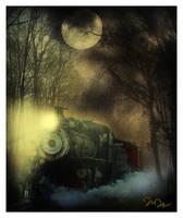 Ghost Train by nine9nine9