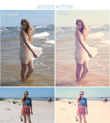 Seaside Action by iilva