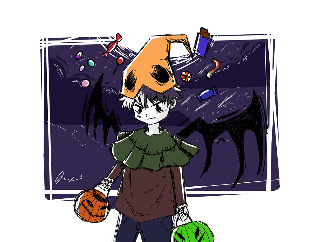 trick or treat! by IceCysee