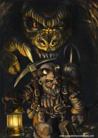 dwarf miner- enano minero by ROPART