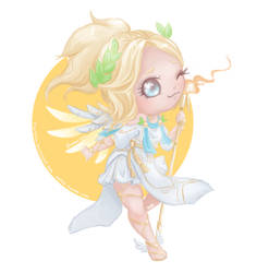 Winged Victory Mercy by Flurryfox