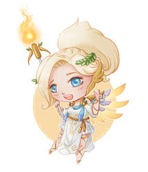 Nendoroid Winged Victory Mercy by Flurryfox