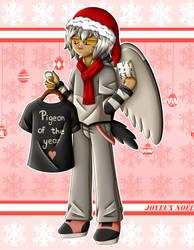 Zanuelle (Secret Santa) - Merry Christmisa by Poussi-Chan57