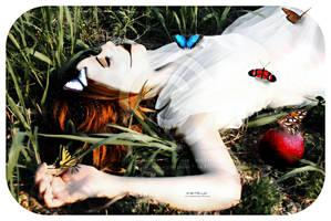 She Ate The Apple by karemelancholia